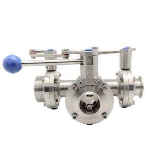 VBT Three Way Butterfly Valve